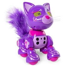 Zoomer Meowies Posh Interactive Kitten Lights Sounds & Sensors Spin Master - $29.99