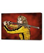 TARANTINO Kill Bill: The Bride - Mounted Canvas (various sizes) - $29.99+