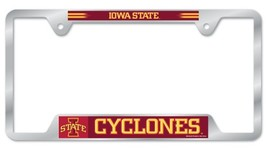 Iowa State Cyclones Heavy Duty Chrome Metal License Plate Frame - $13.95