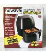 NuWave Brio Digital Air Fryer Black 3 Qt NIB - $56.95