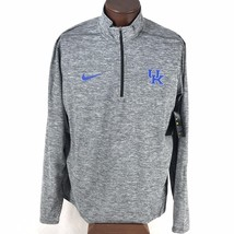 Nike UK Wildcats Element 1/2 Zip Long Sleeve Pullover Shirt Mens XL Gray... - €50,59 EUR