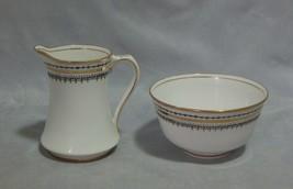 Royal Albert Crown China Sugar and Creamer - $15.84