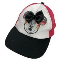 Minnie Mouse Women's Trucker Ball Cap Hat Snapback Disney - $13.85