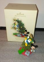 Trimming the Tree / Mickey Mouse Donald Duck / Hallmark Keepsake Ornamen... - £14.54 GBP