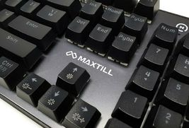 Maxtill G610KV2 Korean English Gaming Keyboard Outemu Switches (Blue Switch) image 7