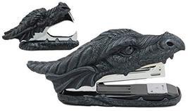 Ebros Legendary Smaug Fire Dragon Head Stapler and Staple Remover Office... - €26,87 EUR
