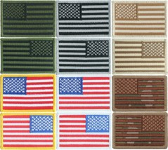 """US Flag Patch 2"""" x 3"""" Sew / Iron On Embroidered Patriotic USA American P... - $5.99+"""