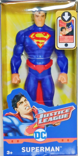 """Justice League Action Figure SUPERMAN 6"""" Mattel DC Comics Movie 2017 Classic NEW"""