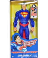 "Justice League Action Figure SUPERMAN 6"" Mattel DC Comics Movie 2017 Cla... - $288,07 MXN"