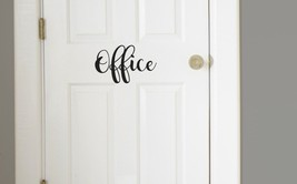 Office Room Vinyl Decal Sticker Home Decor Wall Decal  - $4.99