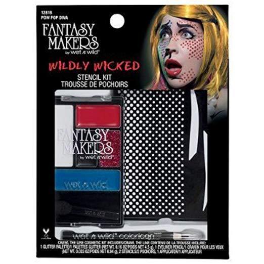 Wet n Wild Fantasy Makers Wildly Wicked Stencil Kit - 12818 Pow Pop Diva - $14.99