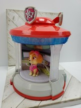 Nickelodeon Paw Patrol Light and Sound Look Out Tower Rotating Carousel Skye - $15.00