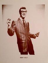 Buddy Holly WB Vintage 8X10 Sepia Music Memorabilia Photo - $13.95