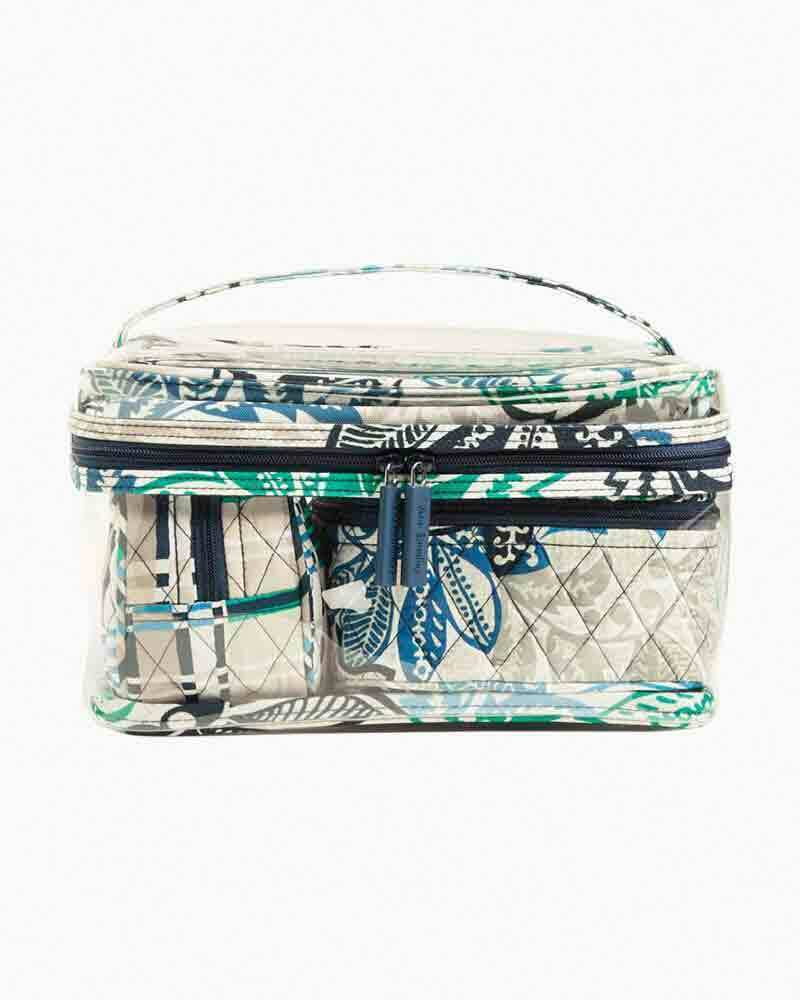 BNWTS Vera Bradley Travel Cosmetic Set 4 PIECE  BAG SANTIAGO - $47.52