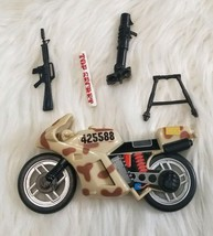 1996 Lanard The Corps World Force Response Team Weapons Turbo Combat Motorcycle - $8.08