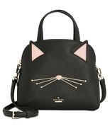 Kate Spade Cat's Meow Cat Small Lottie Satchel Crossbody ~NWT~ Black - $245.52