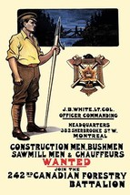 Construction men, bushmen, sawmill men & chauffeurs Wanted by The Mortim... - $19.99+