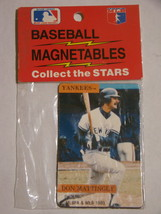 BASEBALL MAGENTABLES - DON MATTINGLY - YANKEES - $12.00