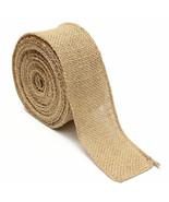 Ribbon Craft Diy Lots Solid Jute Mesh Brown Burlap Home Craft Decor - $6.49 - $7.82