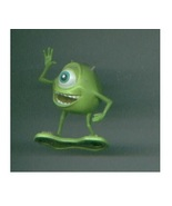 Disney MONSTERS INC PVC figures MIKE/Randall Boggs/ABOMINABLE SNOWMAN/Boo + - $14.00