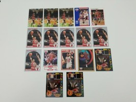 Scottie Pippen Basketball Cards Lot of 17 1989 1990 Fleer Skybox Hoops 1... - $18.37