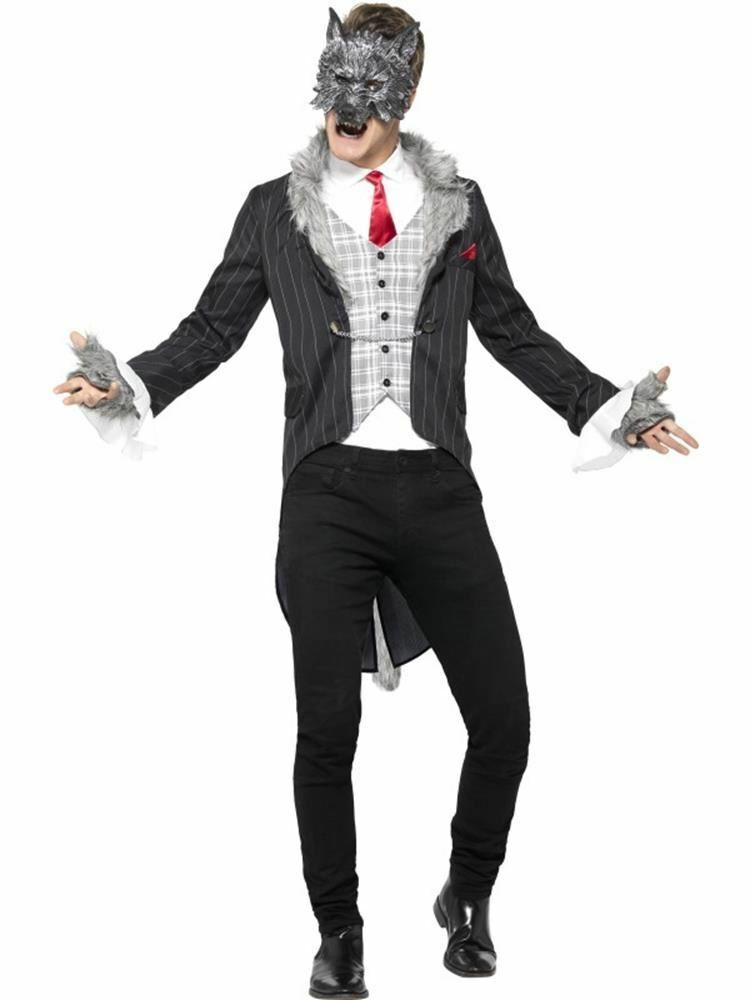 Primary image for Grande Bad Wolf Costume, Deluxe, XL, Halloween Costume, Uomo