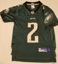 1eea77edafb David Akers Philadelphia Eagles Green Home Jersey #2 Reebok Size Small P..