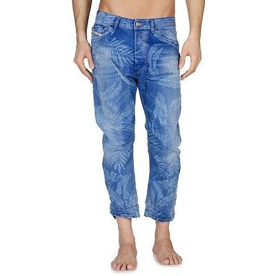 Primary image for Diesel Men's Jeans Narrot 0812W Relaxed Carrot Fit Tapered Leg Sz: 29 & 32