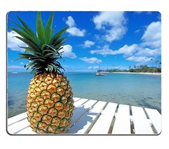 Rectangle mouse pad Diy Design Pineapple Beach - $105,54 MXN