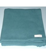 """Sferra 100% Cotton Bed End Runner Peacock Blue 26.5"""" x 108"""" New - $149.90"""