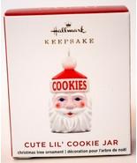 Hallmark  Cute Lil Cookie Jar   Miniature  Keepsake Ornament 2020 - $25.73