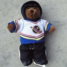 Build A Bear Hockey Outfit Helmet Skates Shirt Jersey Briefs Hockey Pants  - $20.34