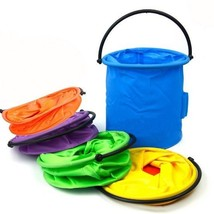 Fishing Bucket Colourful Portable Washable Art Supplies Containers Rando... - $6.92
