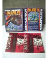 Battletech 1660 Solaris VII The Game World Player Books Box ONLY - $43.95