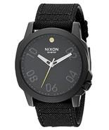 NWT Nixon A514001-00 Ranger 45 Nylon All Black Watch - $148.45