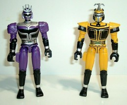 "Vintage 5"" 1997 Bandai Beetleborg Action Figures, Platinum Purple & Gold... - $14.95"