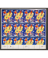 Circus Clowns, Sheet of 29 cent stamps, 40 stamps total - $13.50