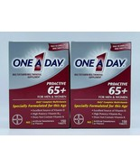 2 x One A Day Proactive 65 Plus Multivitamins 150 Tablets Men & Women Exp 04/22 - $39.99