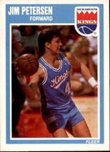 Jim Petersen 1989-90 Fleer Card #136 - $0.99