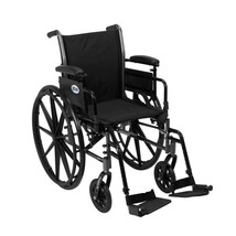 Drive Medical Cruiser III w/ Adjust Arms and Footrests 18'' - $177.80