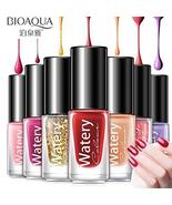 BIOAQUA Nail Polish Art Healthy Watery Colour Removable 30 Colors (5-in ... - $29.44