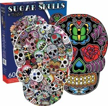 Aquarius Sugar Skulls Jigsaw Puzzle 600 Pieces - $30.68
