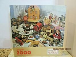 "2,OOO Pc. Jigsaw Puzzle ""TOYLAND""  34 x 42"" Springbok - $11.88"