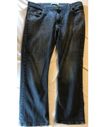 Men's 40x30 Wrangler Relaxed Straight Fit Jeans - $9.90