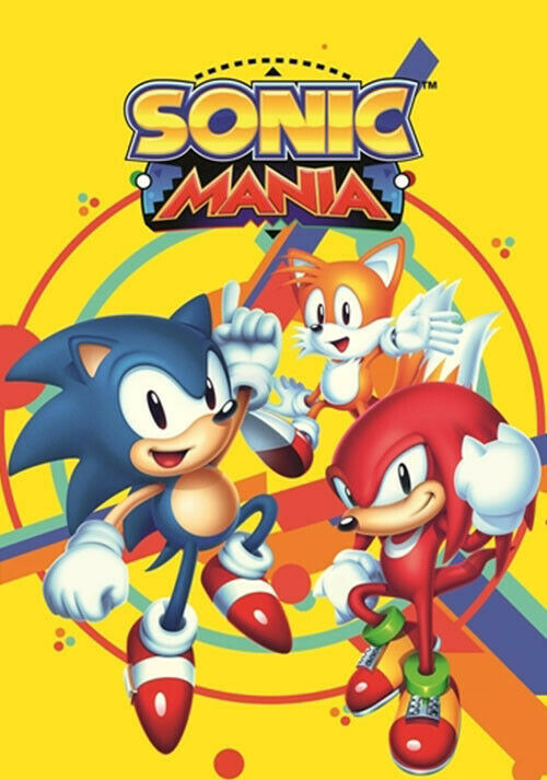 Primary image for Sonic Mania PC Steam Key NEW Game Download Fast Region Free
