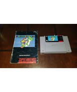 Super Mario World With Manual Super Nintendo SNES VGEX **Inv01932** - $23.16