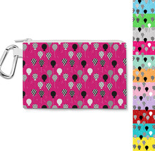 Party Balloons Canvas Zip Pouch - $15.99+