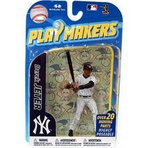 Derek Jeter New York Yankees Playmakers Batting Figure NIB MLB Yanks McF... - $49.49