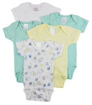 Bambini Short Sleeve One Piece 5 Pack - $21.99