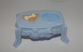 Fisher Price Loving Family Dollhouse PUPPY DOG Pet FOOD WATER DISH Bowl ... - $6.99